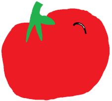 full tomato [for t-shirt]