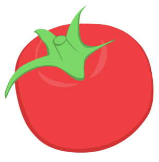 tomato hopefully with background