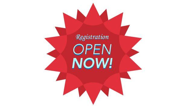 registration open image